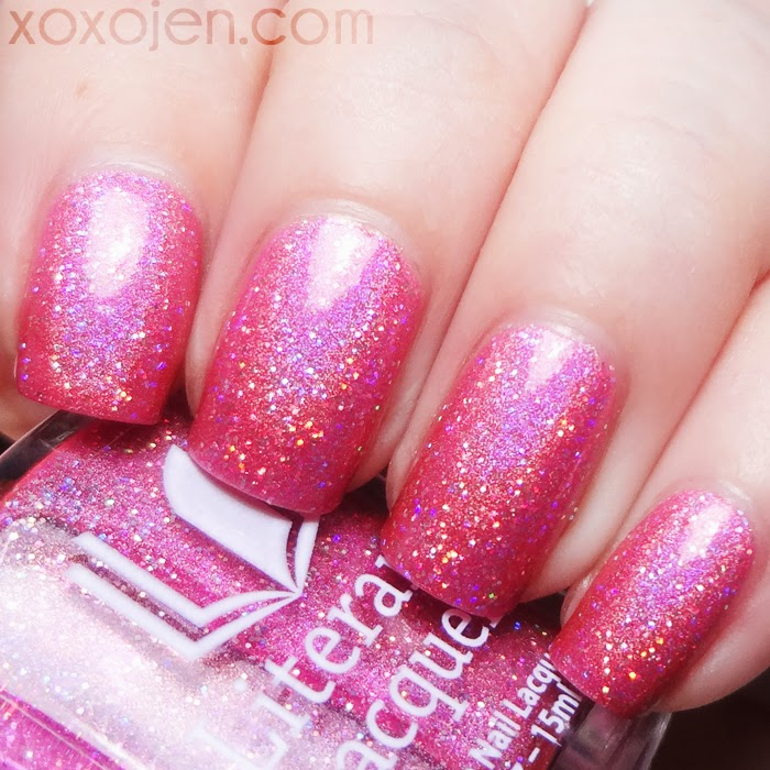 xoxoJen's swatch of Literary Lacquers Laughs in Flowers