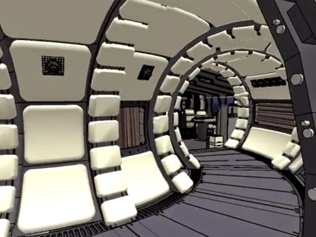 Interior De Ventana De Nave Espacial: JUEGOSYFRIKADAS: Paseo Por Interior Del Halcón Milenario