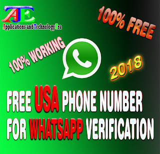 Free whatsapp phone number from USA