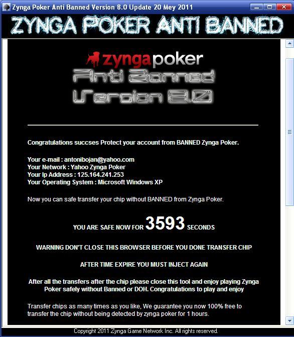 Zynga Poker Toolbar: Cara mengatasi Banned DOH atau akun Suspended ...