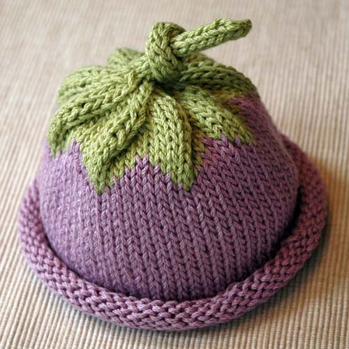 Berry Baby Hat - Free Pattern