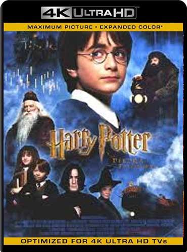 Harry Potter y la piedra filosofal (2001) Latino 4K Ultra HD [GoogleDrive]
