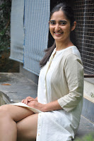 Radhika Cute Young New Actress in White Long Transparent Kurta ~  Exclusive Celebrities Galleries 047.JPG