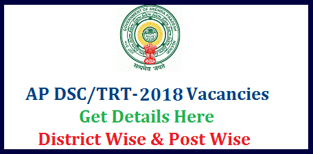 AP DSC/TRT 2018 Notification SA LP PET SGT Vacancies District wise Break up   Andhra Pradesh Teacher Posts Vacancies details get here | Post wise DSC Vacancies in AP School Assistants Language Pandits Physical Education teachers Secondary Grade Teachers Total Tentative Vacancies for Teachers Recruitment Test 2017 in Andhra Pradesh | Dist wise Teacher Posts Vacancy Details for TRT-2017 DSC Notification will be issued soon anounced by HRD Minister Ganta ap-dsc-trt-2017-sa-lp-pet-sgt-post-dist-wise-vacancies-teachers-recruitment-andhra-pradesh