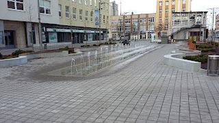 fontanna, Gdynia, pl. Kaszubski