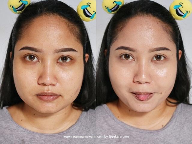 Hasil Pemakaian B.Skin BB Cream