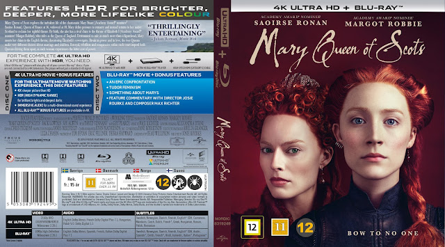 Mary Queen of Scots 4k UHD Bluray Cover