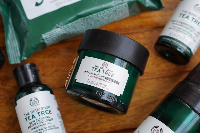 The Body Shop Tea Tree Anti Imperfection Night Mask Review
