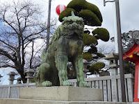 成田山不動尊 狛犬