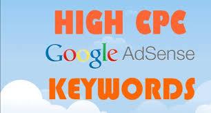 Latest Google Adsense High CPC Keywords
