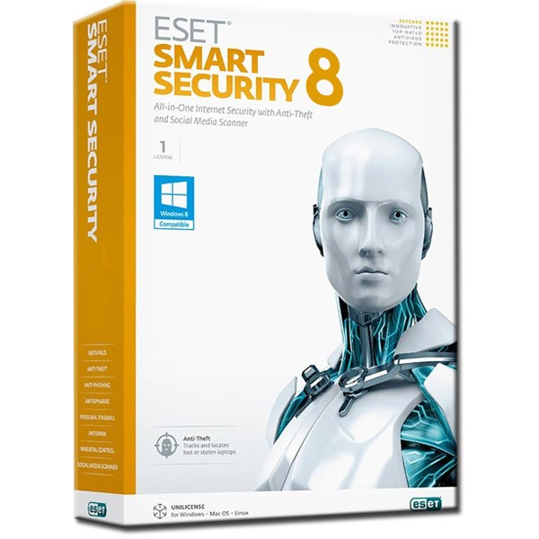 Eset smart security 8 username and password 7-14-2015