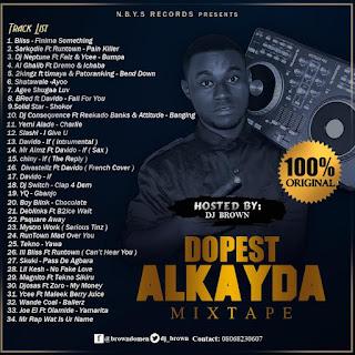DOWNLOAD: Dj Brown - Dopest Alkayda Mixtape Vol 1