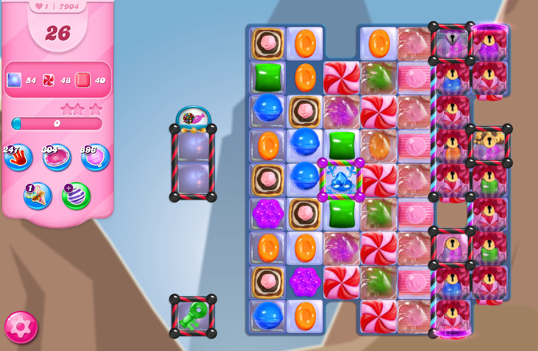 Candy Crush Saga level 7904