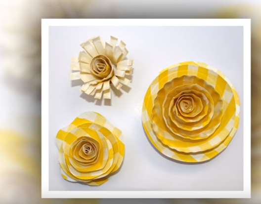 Paper plate flowers crafts