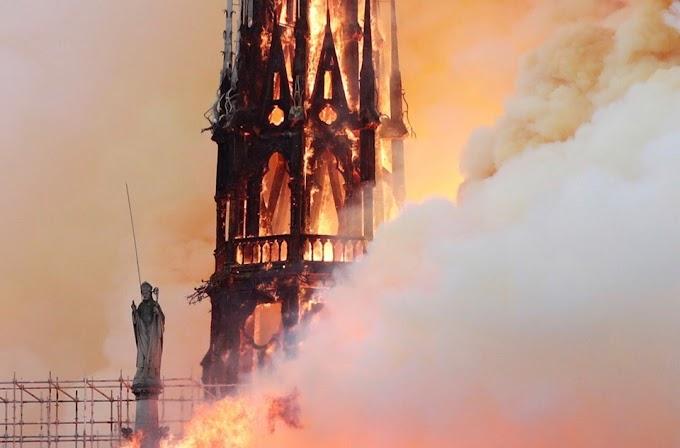 Chama destruída Notre Dame: a destruição de Notre Dame é um sério sinal metafísico