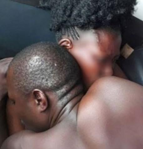 Cheating Husband Gets Stuck Inside His Landlady During S3x (Video)