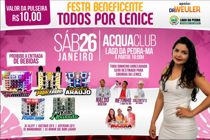 Colabore! Evento beneficente