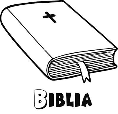 Biblia Para Colorear Dibujos Infantiles Imagenes Cristianas