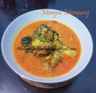 resep membuat mangut manyung, cara membuat mangut manyung