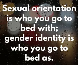 The definition and difference between Sexual Orientation and Gender Identity