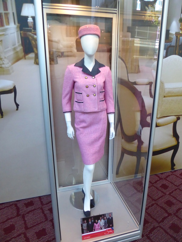 Natalie Portman Jackie Kennedy pink movie costume