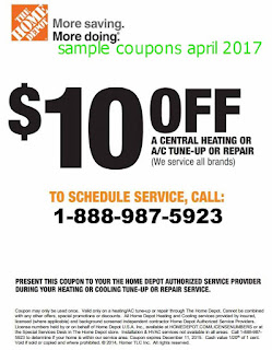 free Home Depot coupons for april 2017