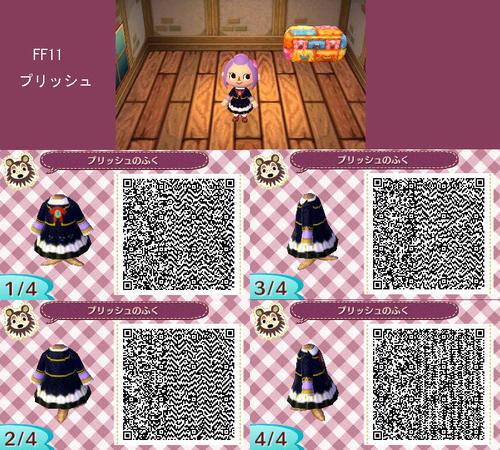 Animal Crossing New Leaf Vampire Goth Qr Code For Animal