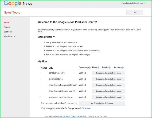 Google-news-publisher-interface
