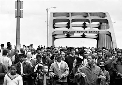 In March 1965, the Southern Christian Leadership Conference (SCLC), Student Nonviolent Coordinating Committee (SNCC) and other demonstrators attempted three times to make the 54-mile trek for voting rights from Selma to Montgomery, Alabama