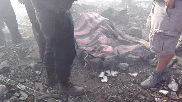 Fotografías; Así fue la tremenda explosión en Tultepec EdoMex donde reportan al menos 29 muertos