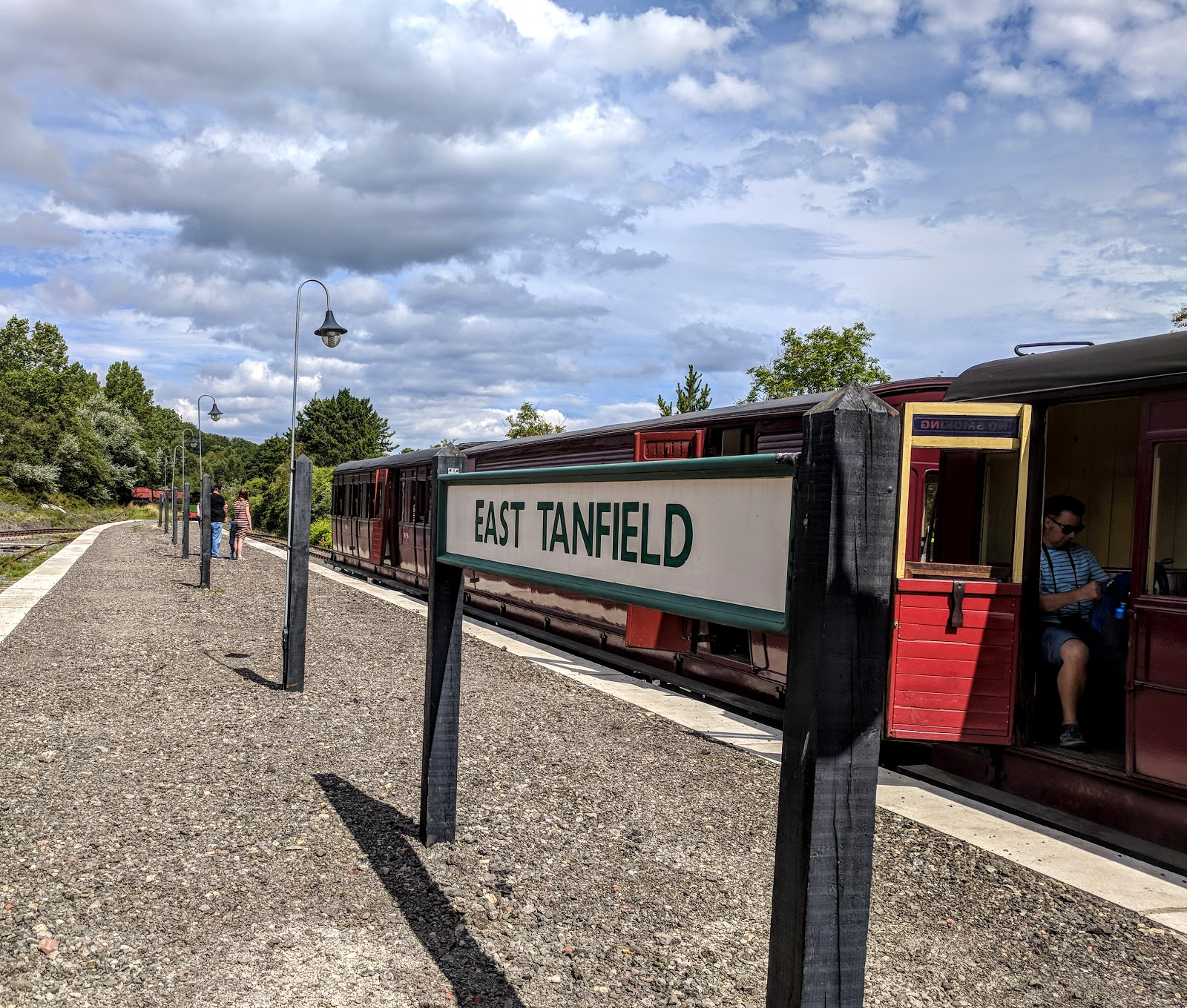 Tanfield Railway | Britain's Oldest Railway & a Picnic at Causey Arch - East Tanfield Station