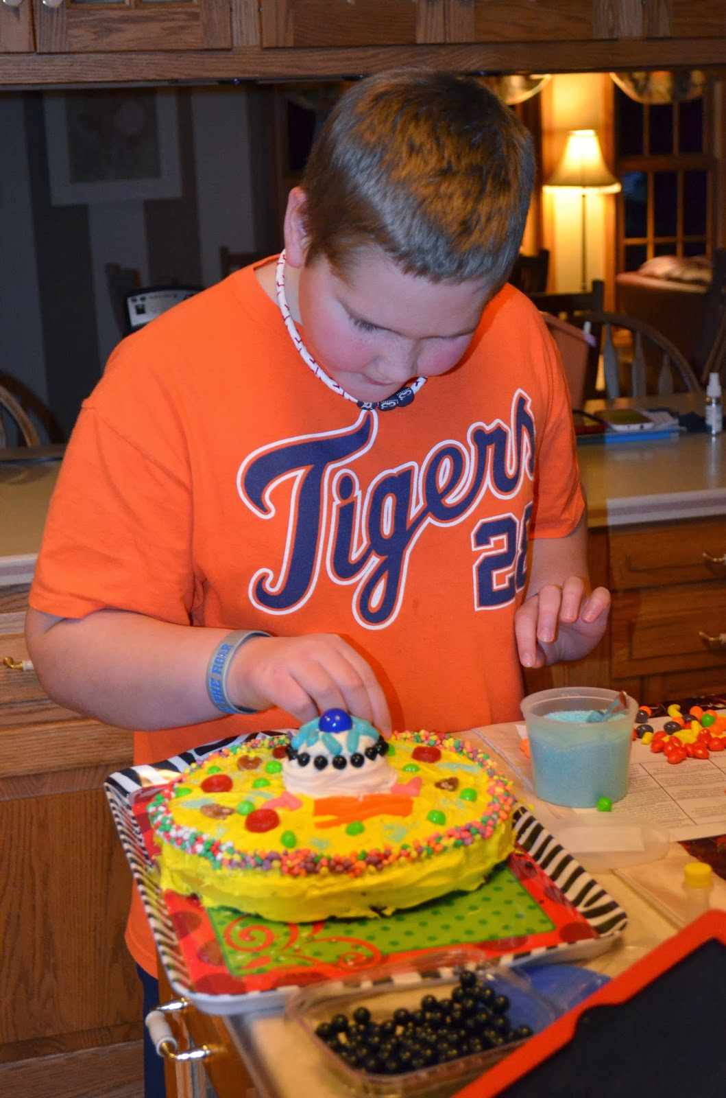 Animal Cell Labeling Cake Ideas And Designs