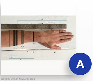 the winner tattoo arm into a ruler for your tattoo design idea
