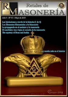 Retales Masonería 95 – Mayo 2019
