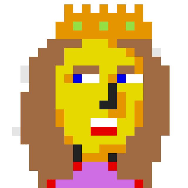 Pixel King art by Joe Chiappetta