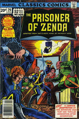 Marvel Classics Comics #29, The Prisoner of Zenda