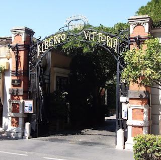 The Excelsior Vittoria is one of  Sorrento's oldest and most  famous hotels and was a favourite of Caruso