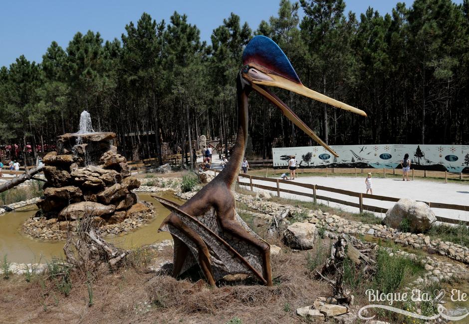 Dino Parque Lourinhã + capital dos dinossauros + Portugal + passeio + blogue português de casal + blogue ela e ele+ ele e ela + Pedro e telma