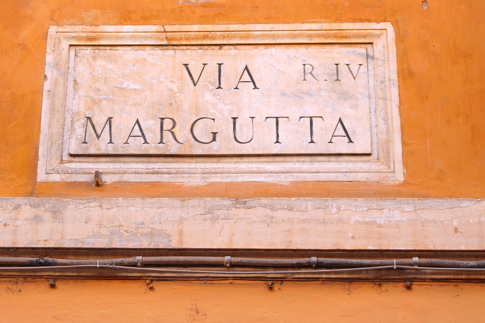 Via Margutta, Rome - style & travel blog