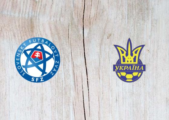 Slovakia vs Ukraine - Highlights 16 November 2018