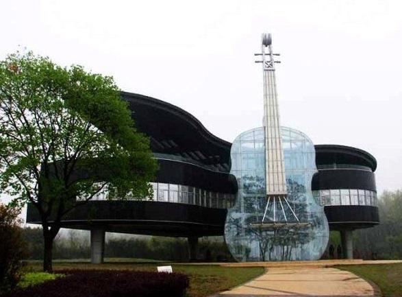 rumah lucu instrumen musik