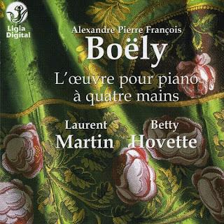 Boely - Oeuvre pour piano quatre mains