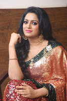 Udaya Bhanu lookssizzling in a Saree Choli at Gautam Nanda music launchi ~ Exclusive Celebrities Galleries 010.JPG