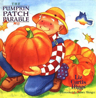 Non-Halloween themed book activities for the Pumpkin Patch Parable
