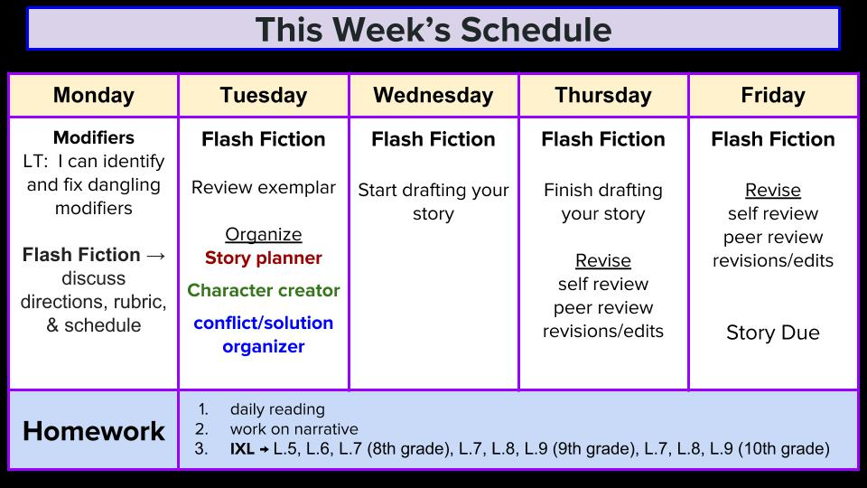 Ms. Black\'s 8th Grade ELA Blog