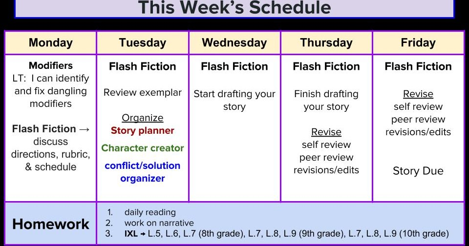 Ms. Black\'s 8th Grade ELA Blog: Week of March 26th