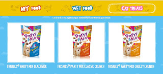 Party Mix Cat Treats dari Friskies #500Catventure
