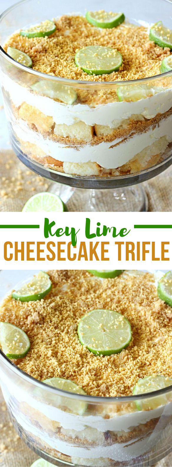 KEY LIME CHEESECAKE TRIFLE #dessert #sweets