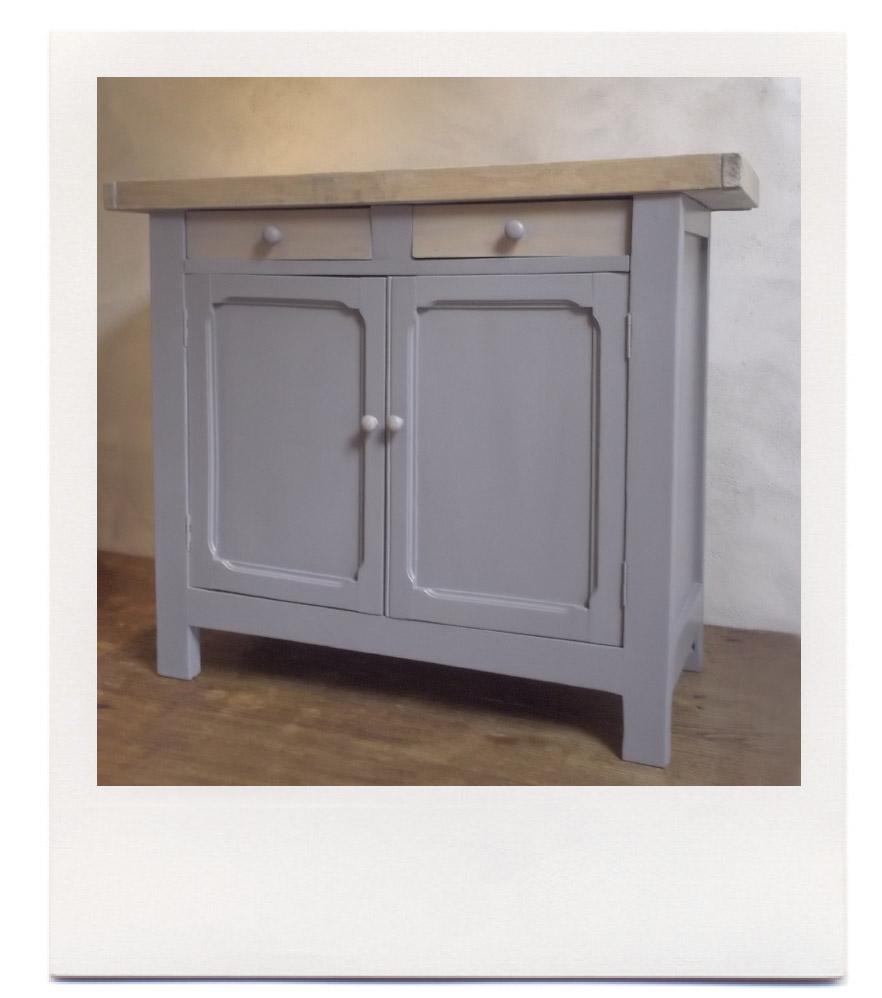 le bricolarium buffet gris. Black Bedroom Furniture Sets. Home Design Ideas