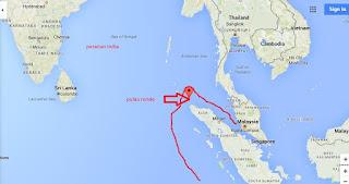 Batas wilayah Negara Indonesia bagian barat